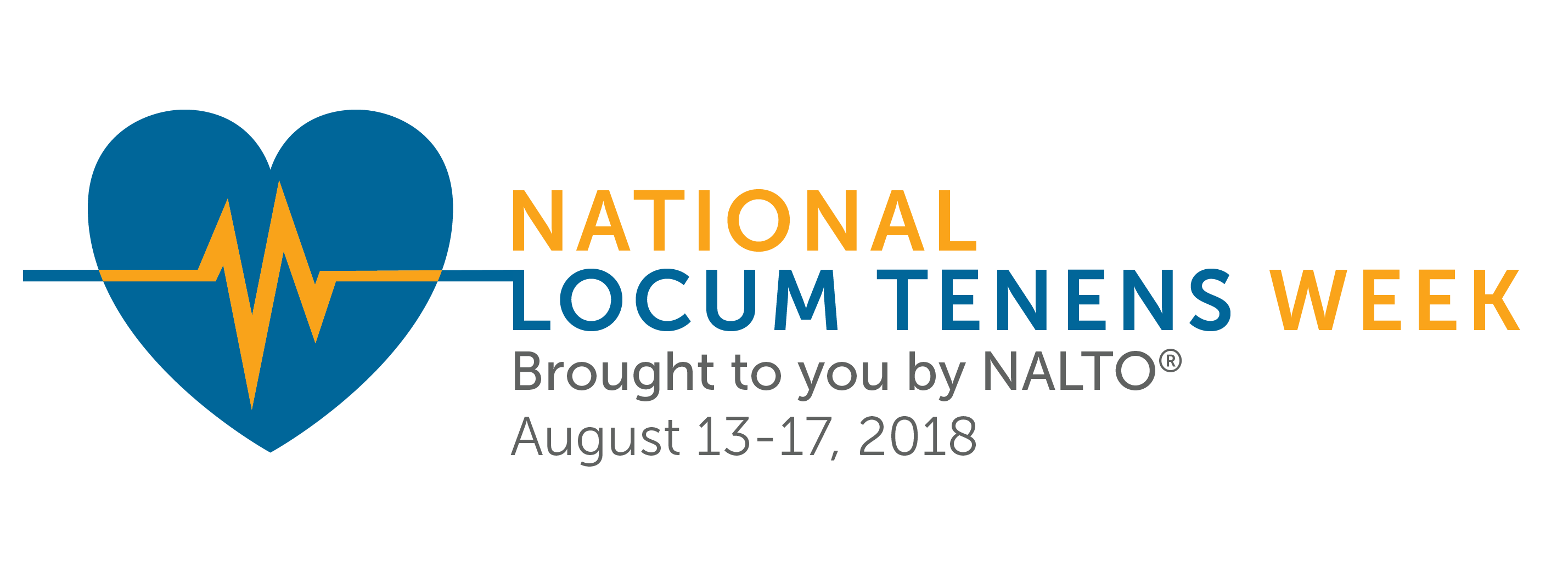 2018 National Locum Tenens Week