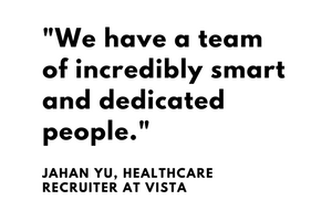 We have a team of incredibly smart and dedicated people - Jahan Yu