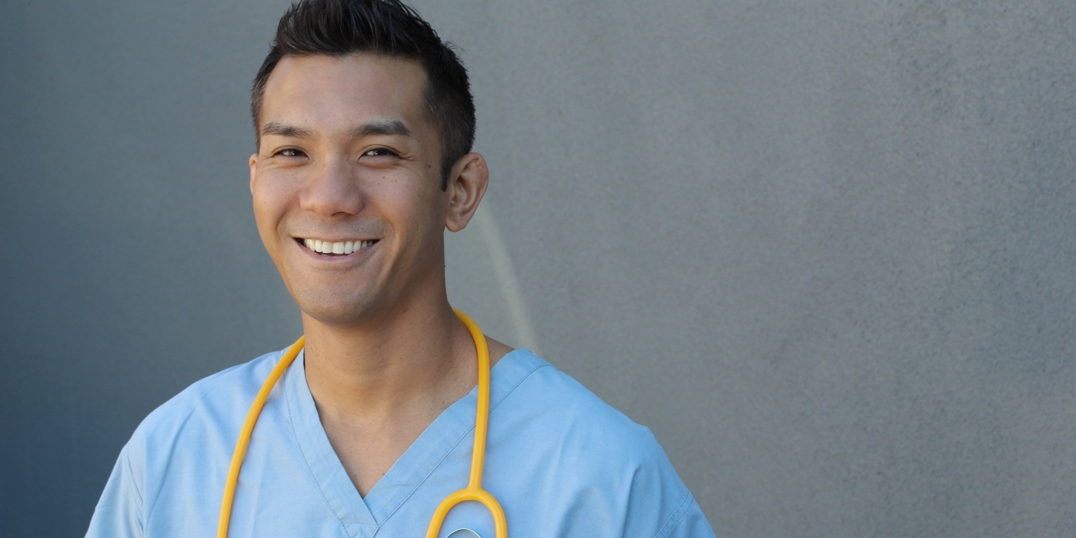 young doctor considering career options