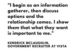 Kendrick McLaughlin, Recruiter Interview
